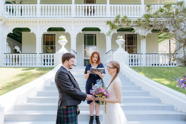 Auckland Garden Wedding<br><span>at Alberton<br><span>Erin & Joe</span>